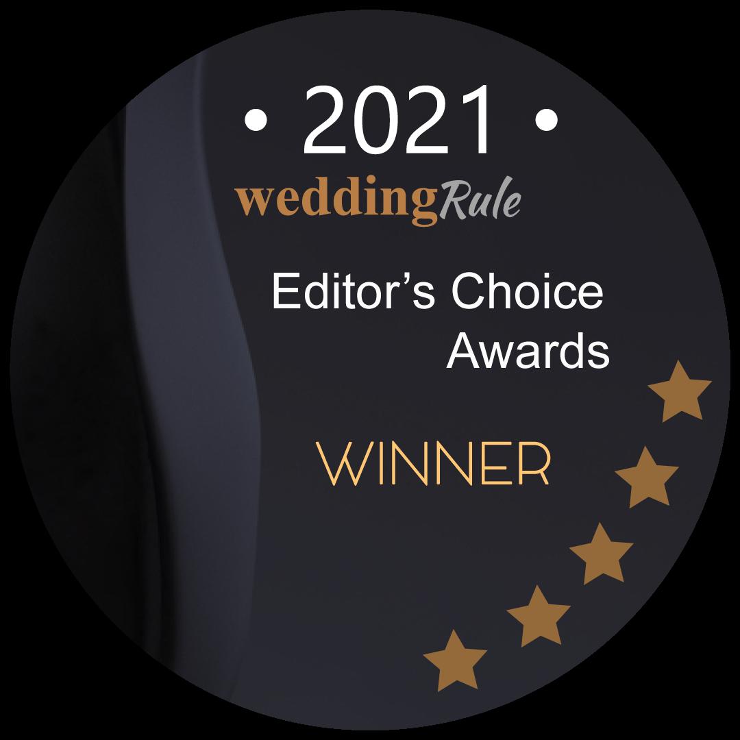 WeddingRule Editor's Choice Awards Winner 2021